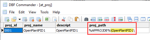 How to Change OPPID and Plant Project's Names - AutoPLANT