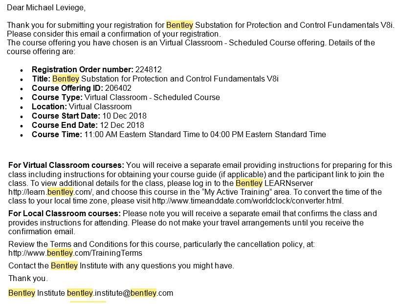 Online Course - Bentley Substation - elcoCAD | Promis e