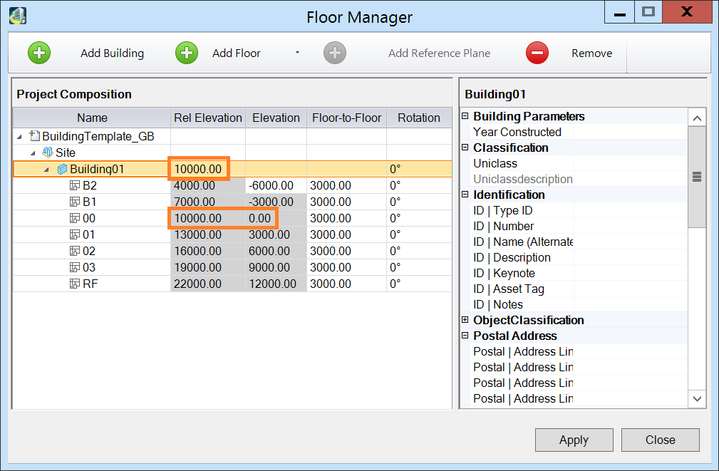 Lowest Floor Elevation : Floor manager relative elevation and to in