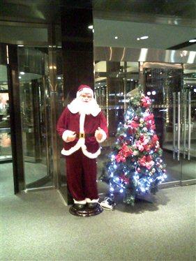 Scary ho, ho, ho... and it dances, too!