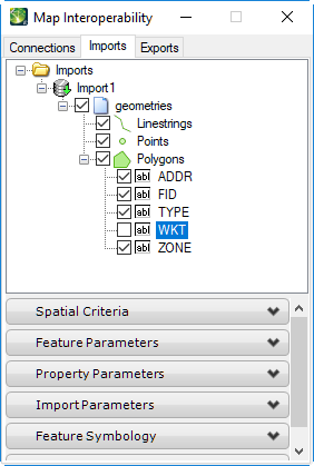 VRT file parameters to import Points, Lines, and Polygons - Bentley
