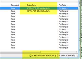 Print Organizer SS4 - Overriding Design Script for