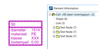 Label (cell) with Text Fields
