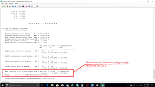 Appendix xi flange evaluation autopipe forum autopipe bentley communities - Asme sec viii div 2 ...