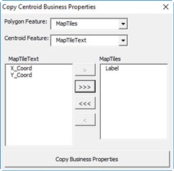 Centroid text to shape (VBA) - Bentley Map | OpenCities Map