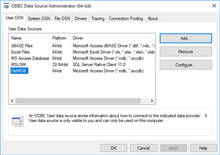 Connecting OpenCities Map 64-bit to Microsoft Access (* mdb) 32-bit