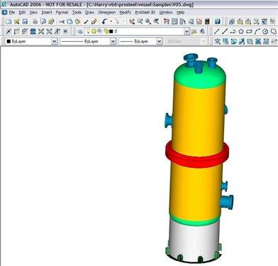 Pvgen Pro 3d Pressure Vessel Generator In Prosteel Prosteel Forum Prostructures Bentley Communities
