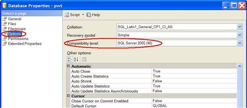 Are you using SQL Server 2005? Are you really using SQL Server 2005? -  Allen Brown [Bentley]'s Blog - Bentley Colleague Blogs - Bentley Communities