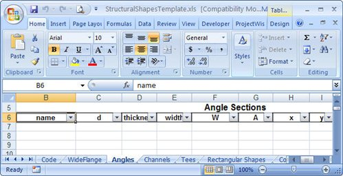 How To Create Or Edit An XML Section File - ProStructures