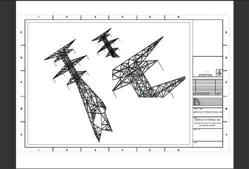 Transmission Line Design Using Bentley Structural