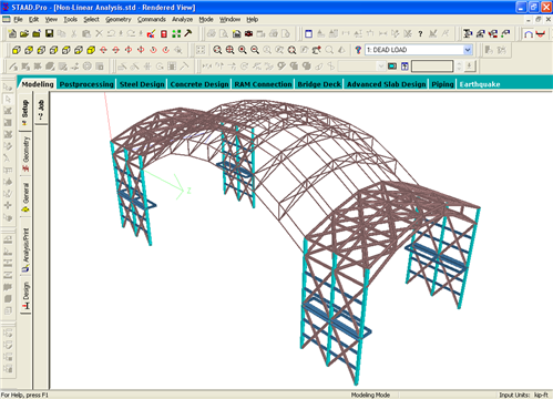 ANALYSIS OF STEEL STRUCTURES IN STAAD Pro - Ravi Ozarker's