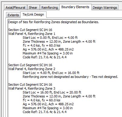 Shear Wall Verification - ACI 318-08 (RAM Concrete) - RAM