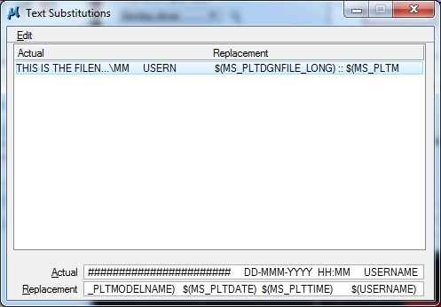 Using Pen Table Multi-Field Text Substitutions - Printing and