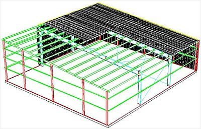 Roof and floor loading without the roof or the floor for Single pitch roof design