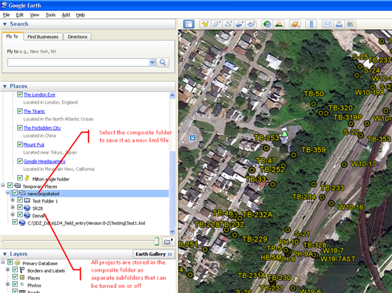 Google Earth and gINT    what can I actually do? - gINT | Plaxis