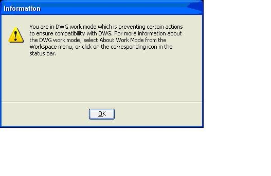 V8i-VBA] Enable/Disable AutoCAD units and work mode dialogs