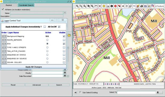 layers not displaying in web mapping - ALIM | Exor - Forum - ALIM
