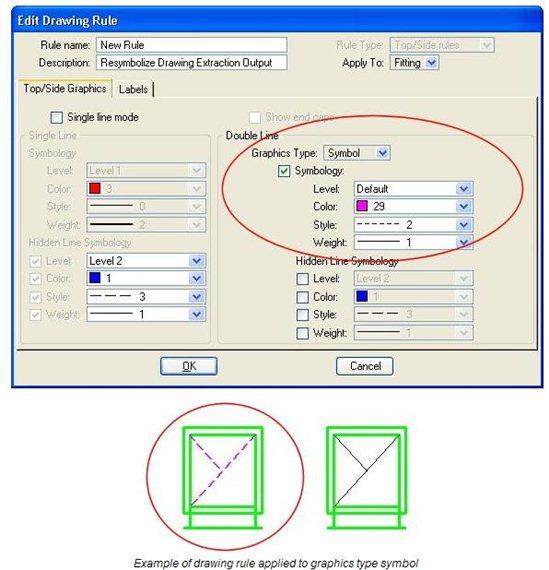 No 2D Symbols Mechanical Systems - OpenBuildings | AECOsim