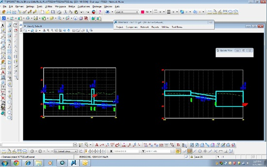 Large Structure Sizes When Creating Drainage Profiles
