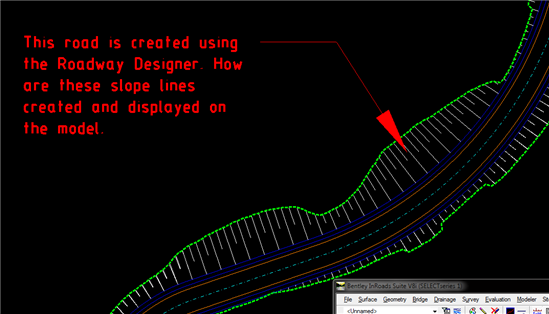 Inroads Xm How To Generate The Cut And Fill Slope Lines