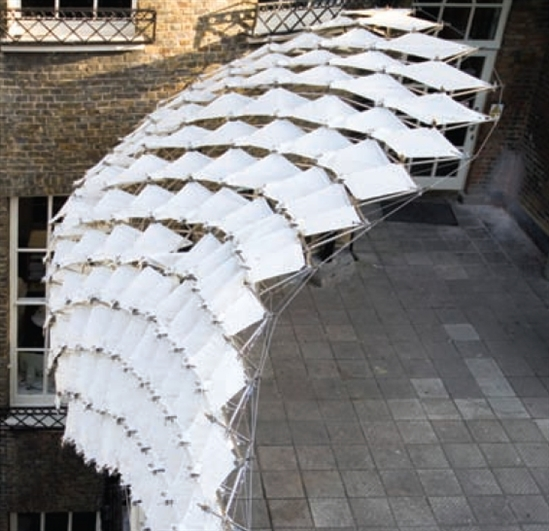 AA Component Membrane Canopy London & AA Component Membrane Canopy London - GenerativeComponents ...