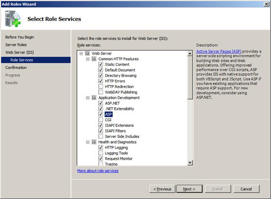 GWP1003 Geo Web Publisher V8i installation on Windows Server 2008 64