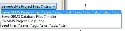 What S New In Sewergems V8i Selectseries 3 Haestad