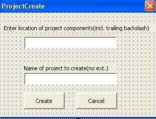 Using VBA To Programmatically Import A VBA Projects