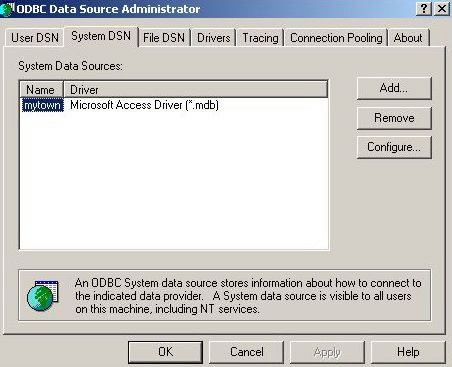 Reading Elements From A Microsoft Access Database With VBA [CS