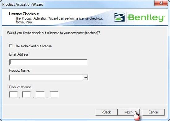 bentley site activation key has expired