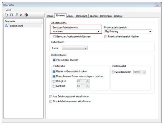 Konvertierung Interplot Einstellungsdatei Settings File