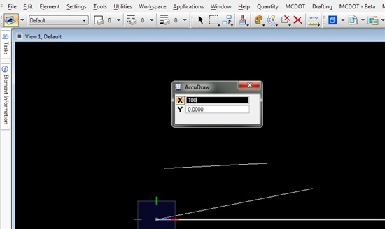 Drawing Lines In Microstation : Measure the slope of a line microstation forum