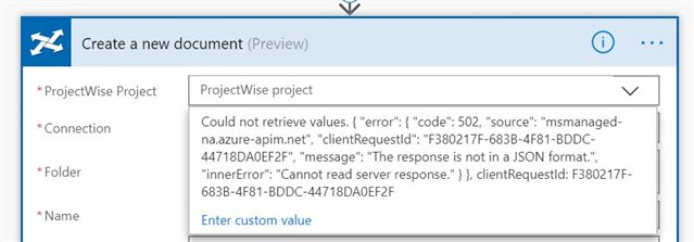 Starting to play with Flow and PW     error - Discussion