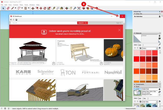 Importing local SketchUp (*skp) files - SITEOPS Wiki