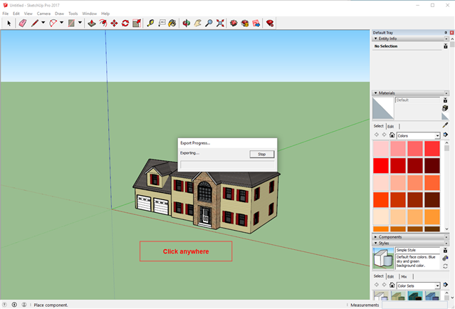 Importing local SketchUp (*skp) files - SITEOPS Wiki - SITEOPS
