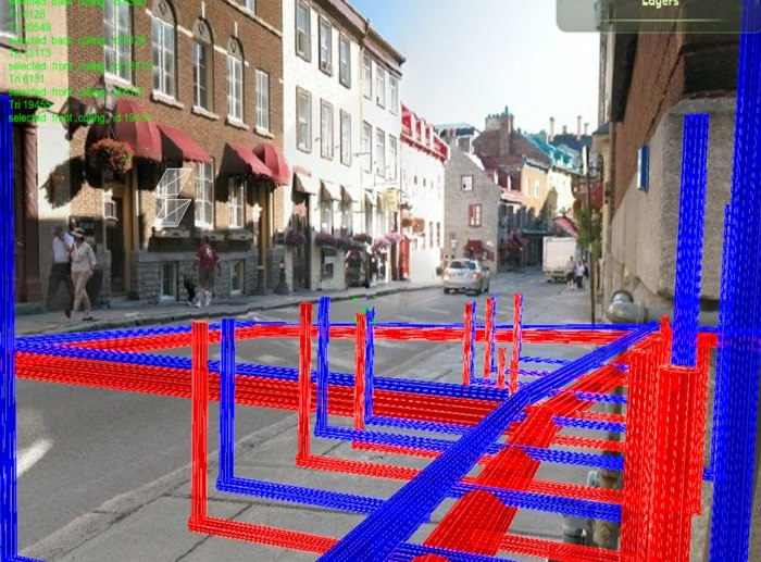 Augmented reality for underground infrastructure the