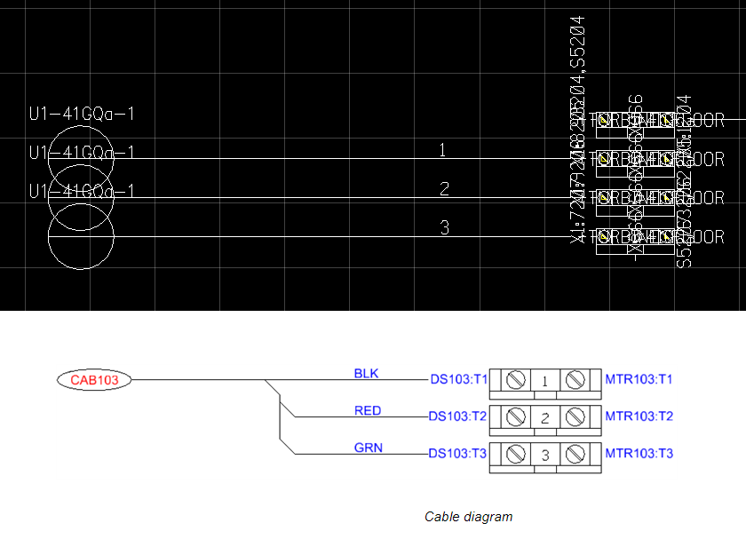 Admirable Cable Diagram Wires Not Combining To One Cable Elcocad Promis E Wiring 101 Capemaxxcnl