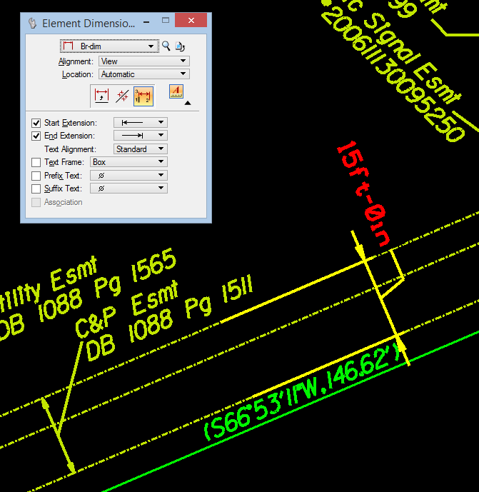 Bentley Microstation Demo: How Do I Dimension An Object To A Line Perpendicular