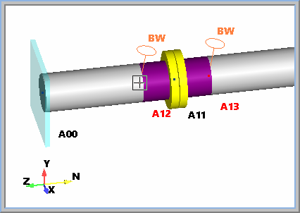 01  How to model flanges using AutoPIPE? - AutoPIPE Wiki