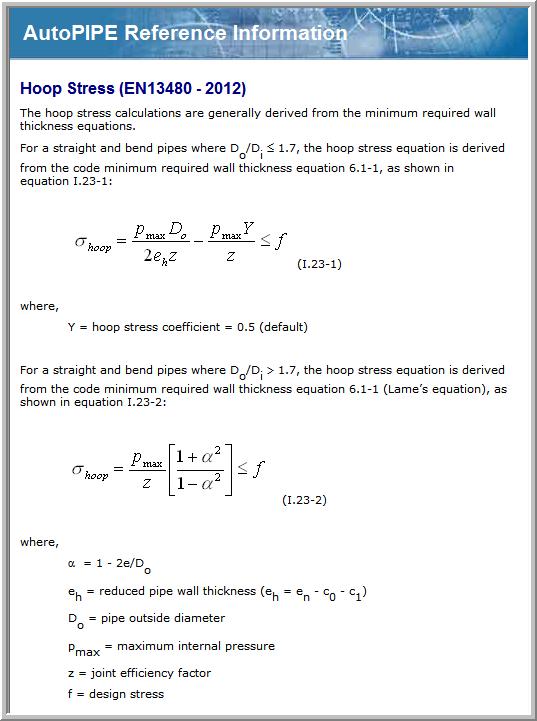 04  En13480 hoop stress appears to incorrect per code