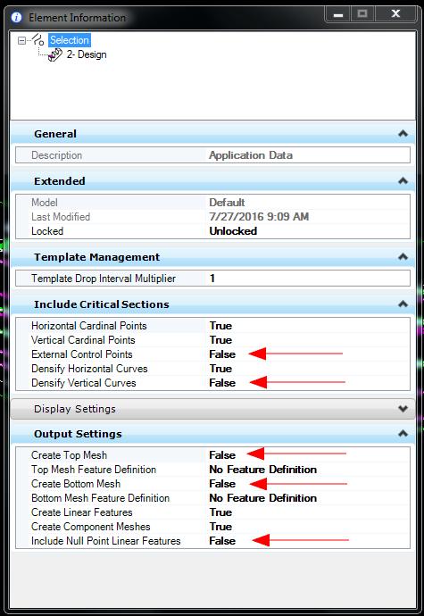 Optimizing Memory - Corridor Processing - OpenRoads
