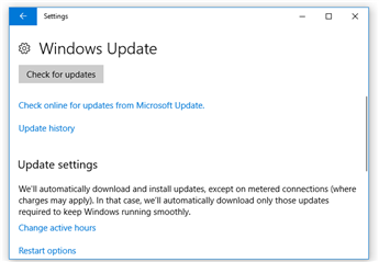 MicroStation hangs on startup after Windows 10 Update (Spring