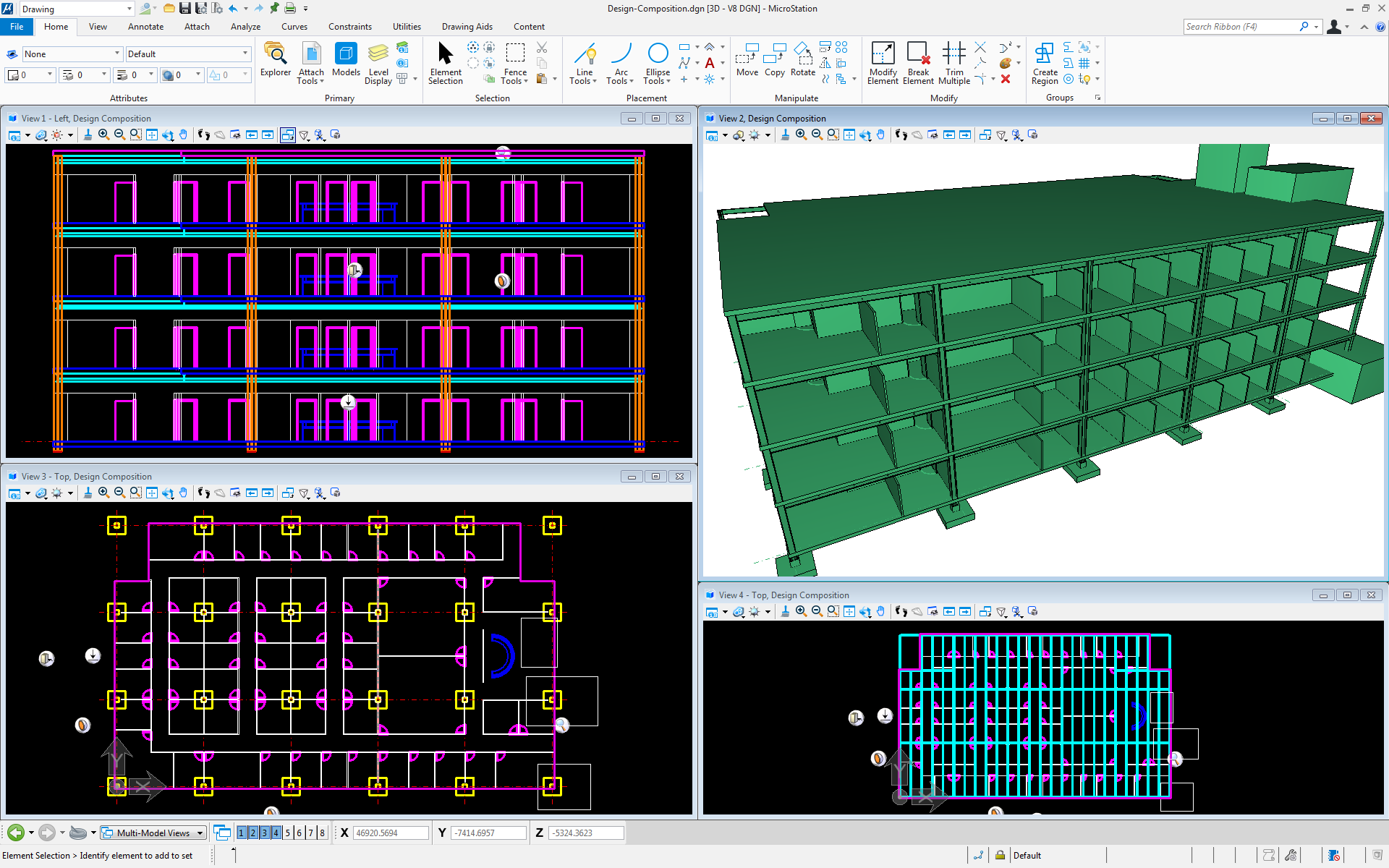 Drawing Lines In Microstation : Microstation connect edition and the autocad user