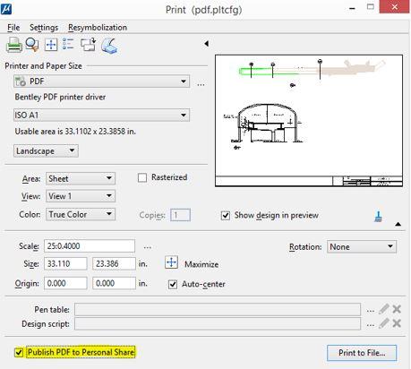 Printing Enhancements To Microstation Connect Edition Printing And Plotting Blog Printing