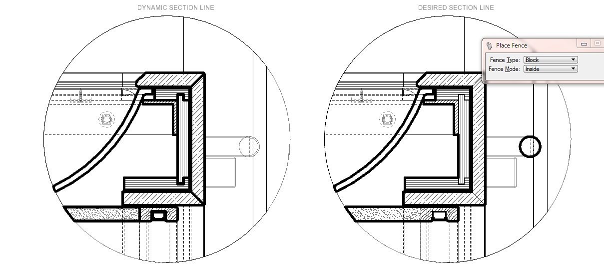 Drawing Lines In Microstation : Dynamic view section line microstation forum