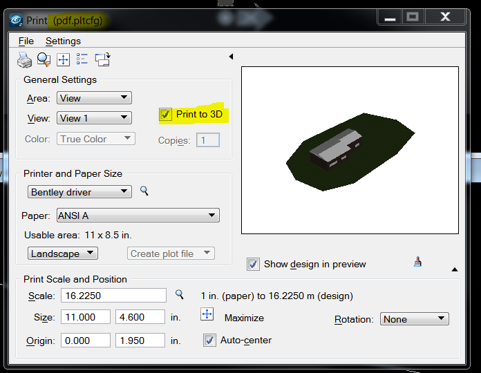 Bentley View Viewport In A Dwg To A Interactive