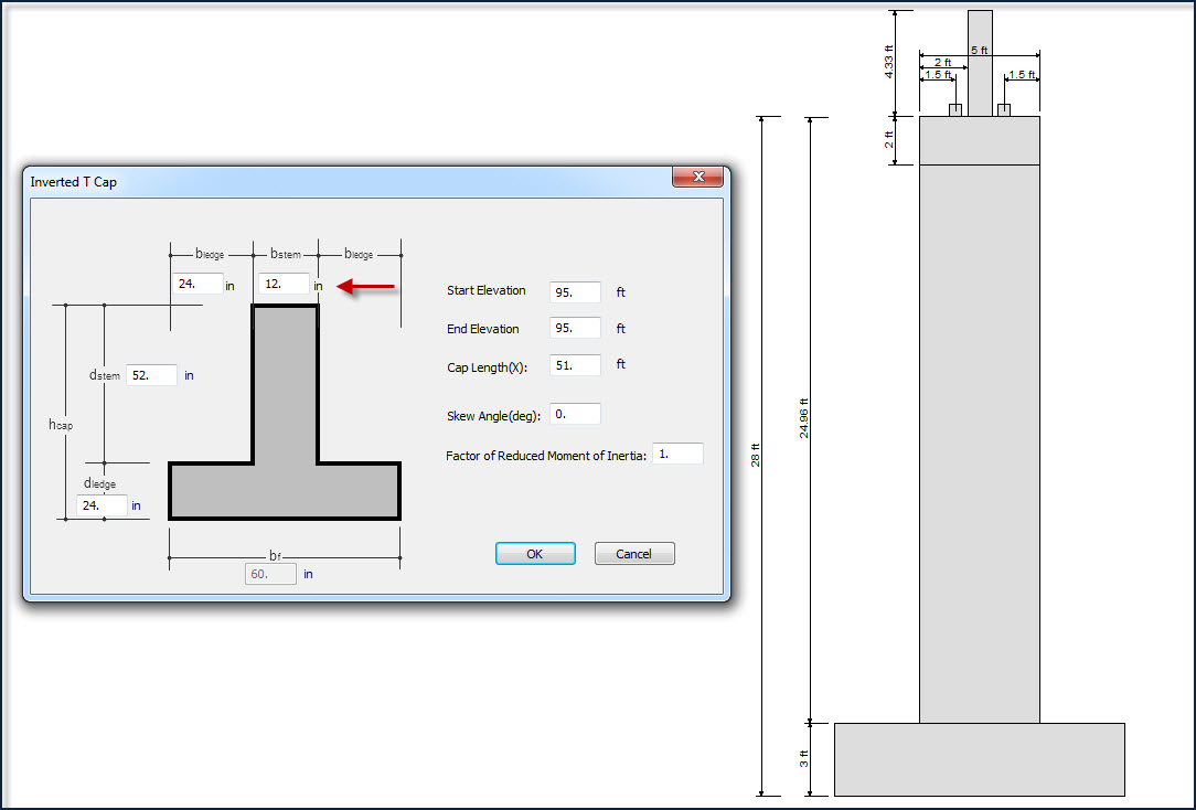 Inverted T Beam Stem Width Calculation And Verification