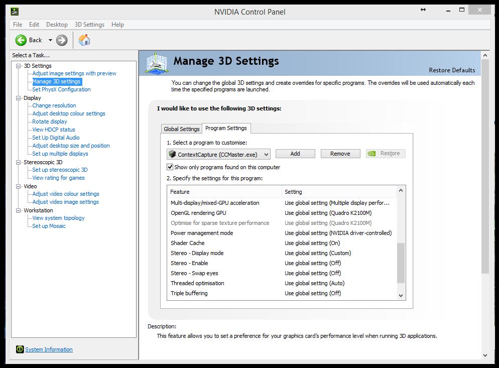 Use your dedicated GPU with Artlantis on a Windows computer : Abvent