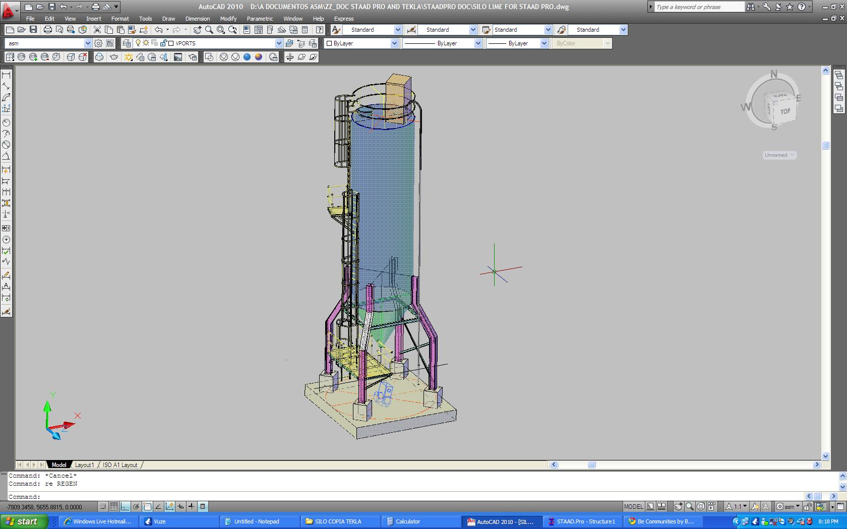 staad pro steps Staad pro steel structures structural analysis analysis of elevated steel tank using staad pro analysis of elevated steel tank using staad pro by ubani obinna ranks on february 08,  step 1: create your nodes to form the base and the location of the stanchion.