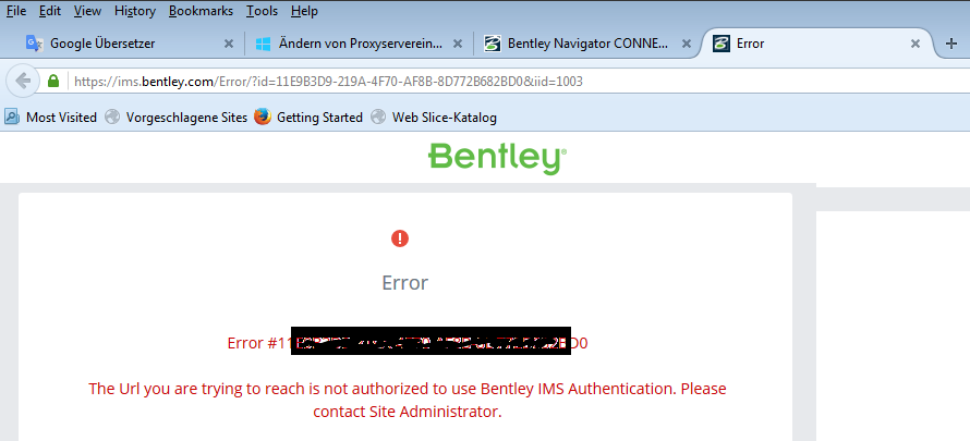 Bentley Navigator Connect Edition Login Project Review